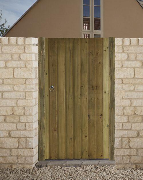 Babington side gate