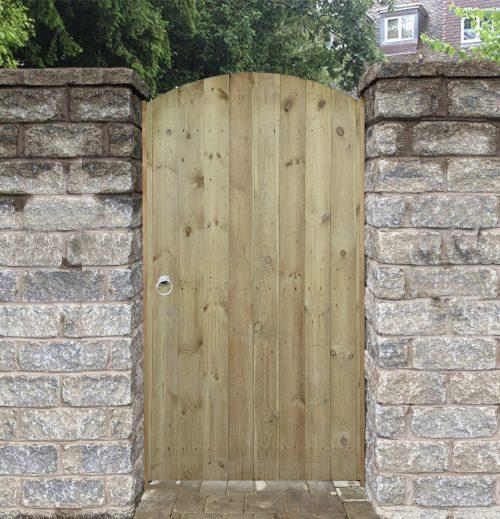 Priory Curve garden gate